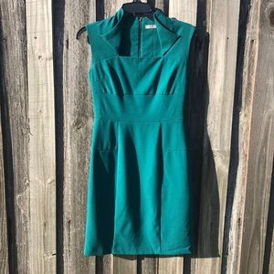 Marc New York Teal Dress Size 2 - Great for Work!